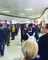 The queue to pay for my ticket!