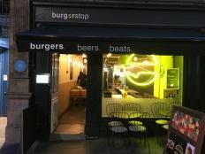 Burger Stop: a very nice place to grab a good burger.